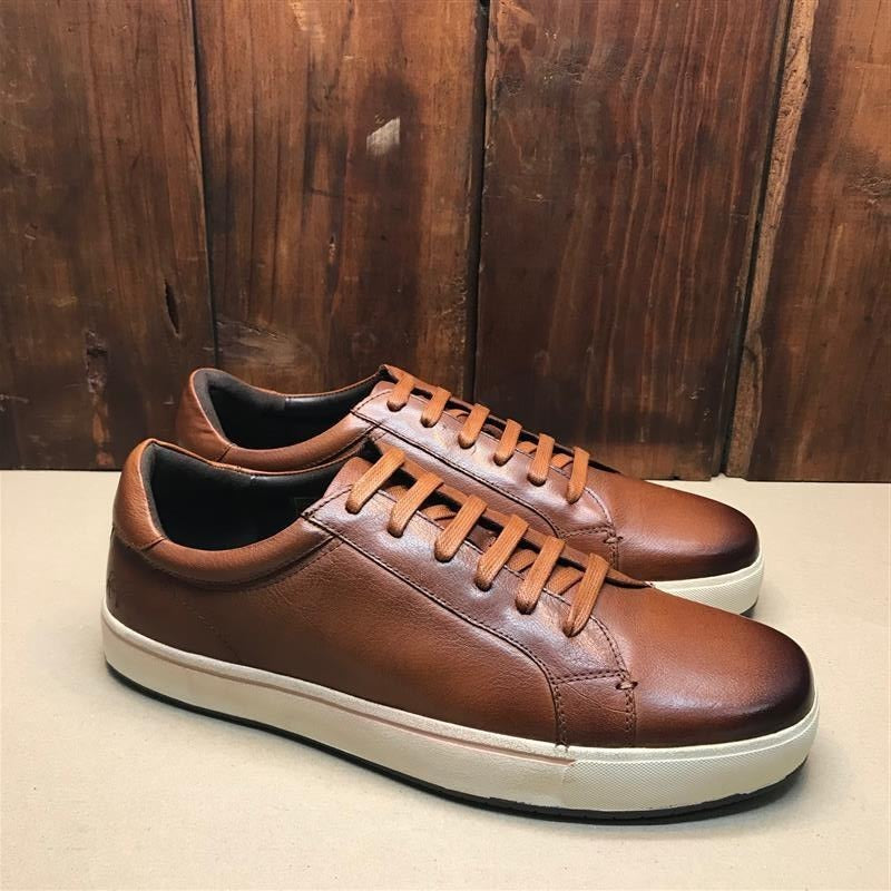 Kingsley Heath Braid Valc Tan/Choc/White Sneaker