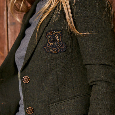 Cavendish Tweed Forest Blazer