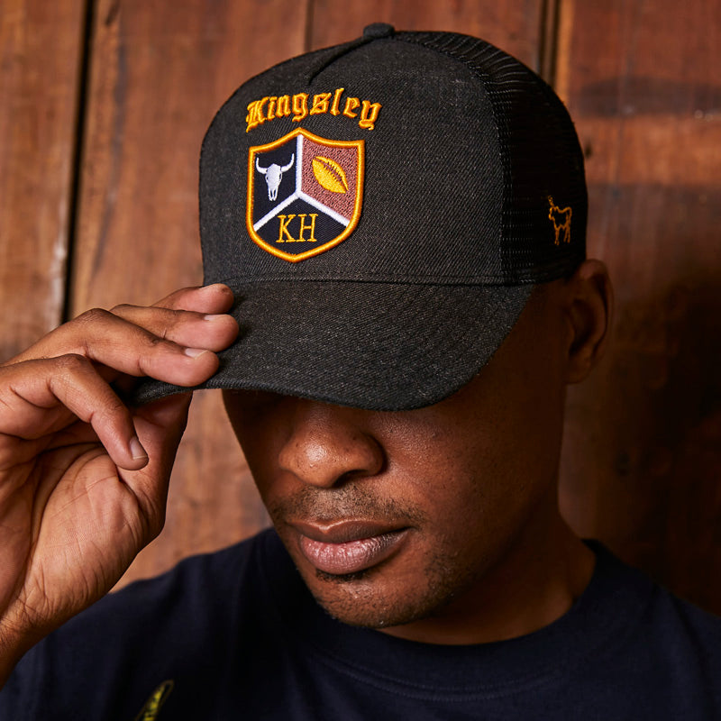 Kingsley Heath Rugby Badge Gravel Cap