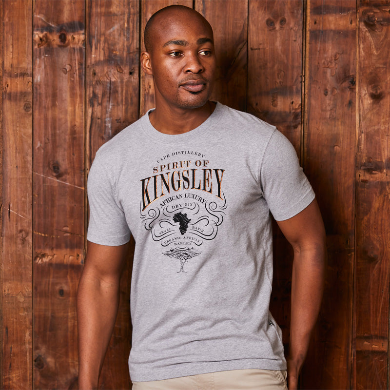 Kingsley Heath African Craft Gin Crew Vervet Tee