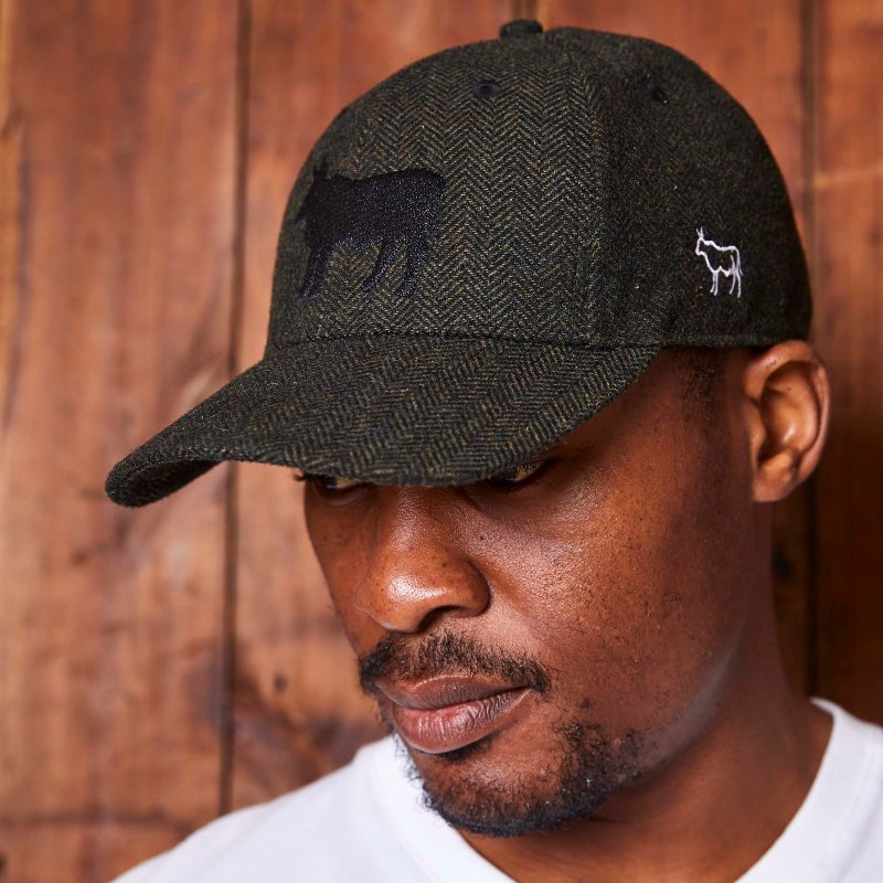 Tweed Nguni Fatigue Cap