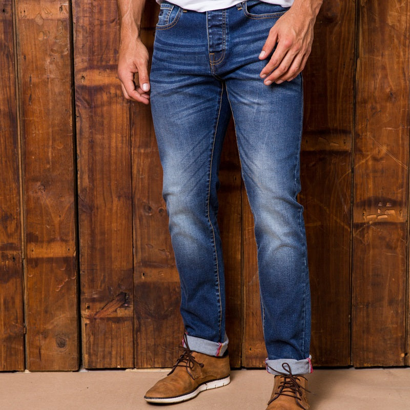 Ranger Slim Indigo Light Wash Denim