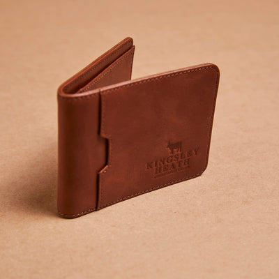 Kingsley Heath Bi-Fold Tan Wallet