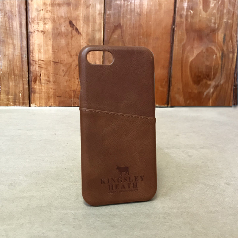 Iphone 7 Tan Leather Case