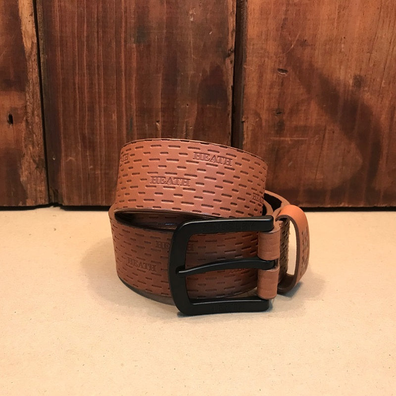 Mopani Slit Tan/Black Belt
