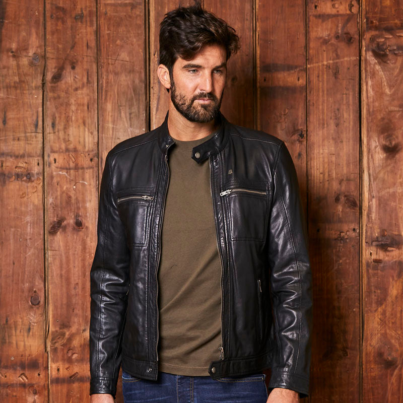 Kingsley Heath Urban Luxe Leather Mamba Jacket