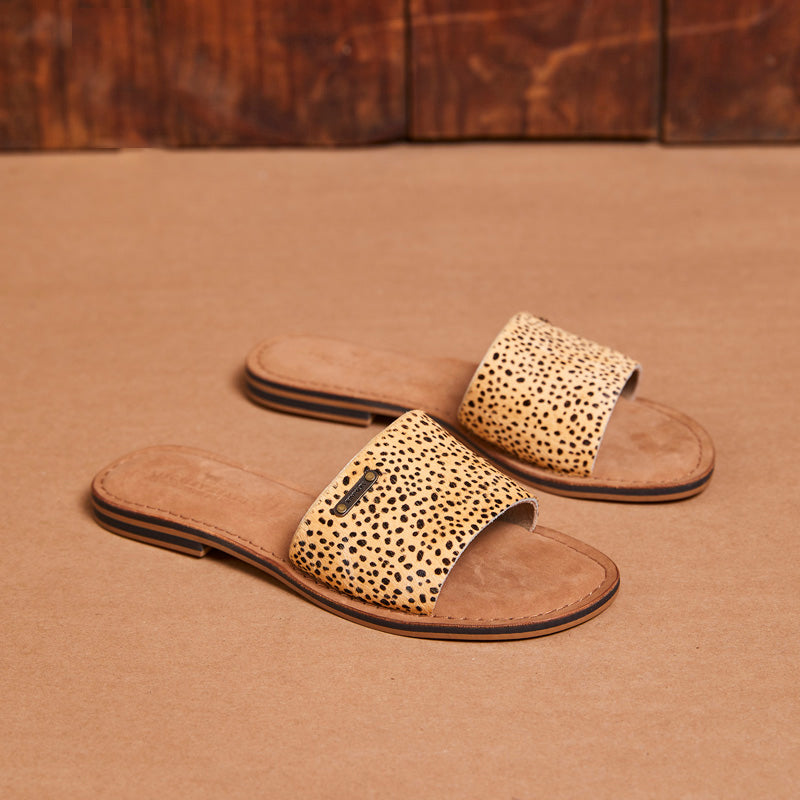 Kingsley Heath Mule Wild/Brass/Tan Sandal