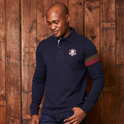 Kingsley Heath Preppy Longsleeve Sjcpn Midnight Golfer