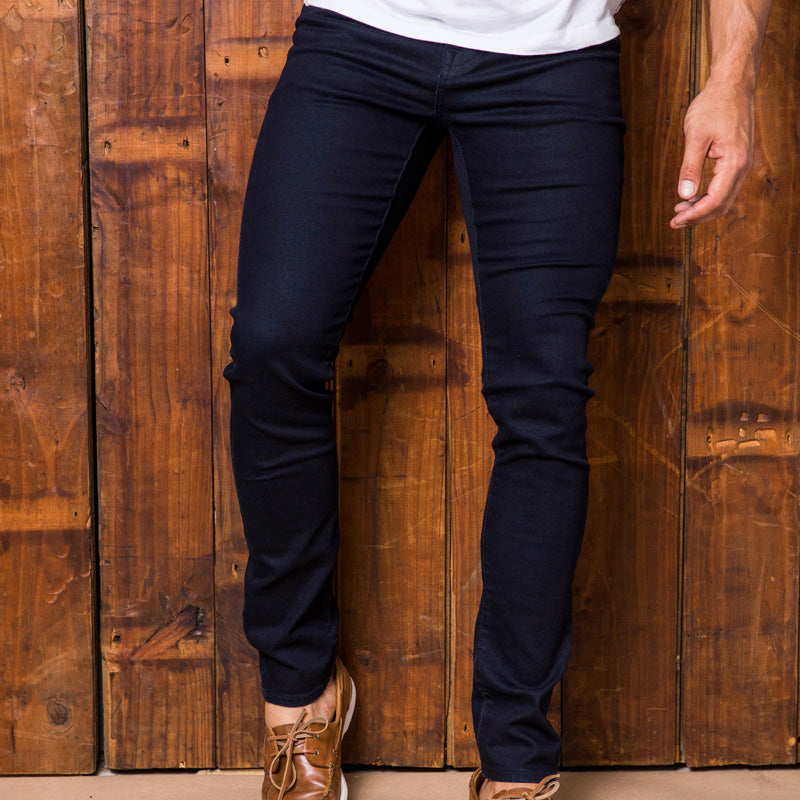 Okavango Super Slim Solid Ink Denim
