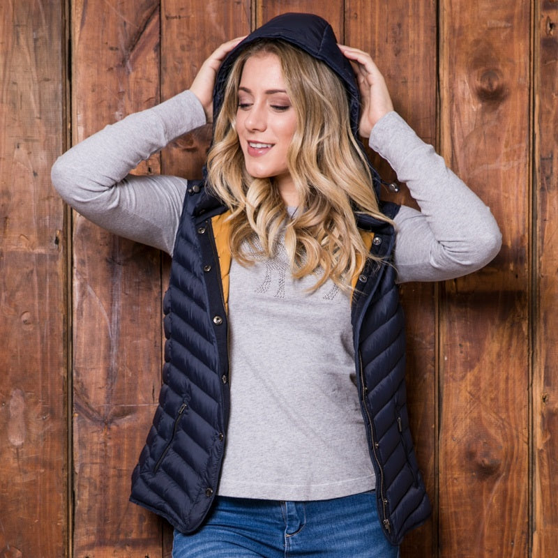 Classic Meander Midnight Gilet