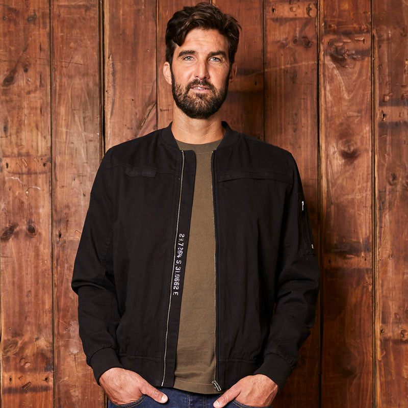 Kingsley Heath Luxe Bomber Mamba Jacket