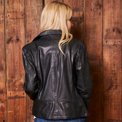 Classic Kingsley Heath Leather Mamba Jacket