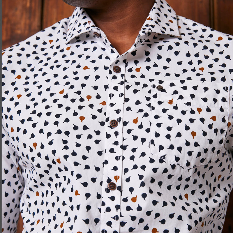 Calabash Pop Slim Fit Pelican Shirt