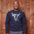 Two Face Nguni Pullover Midnight Sweater