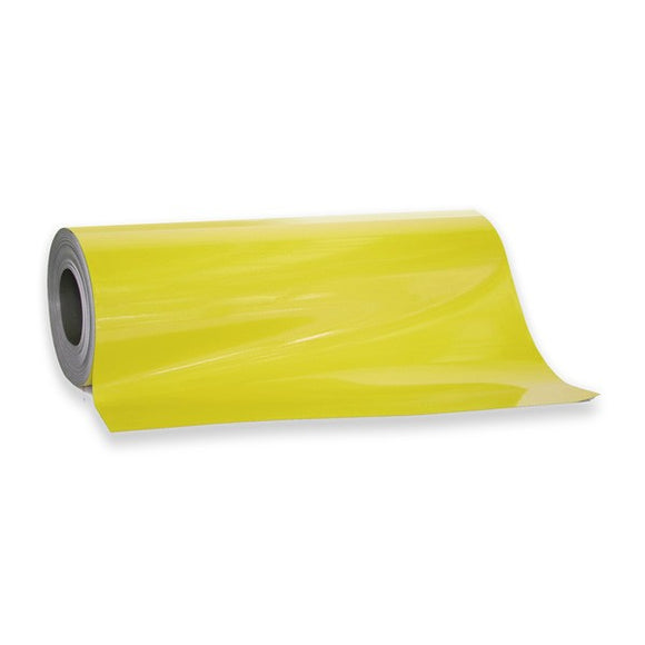 Magnetic Sheeting - Yellow | 620mm x 0.8mm | PER METRE