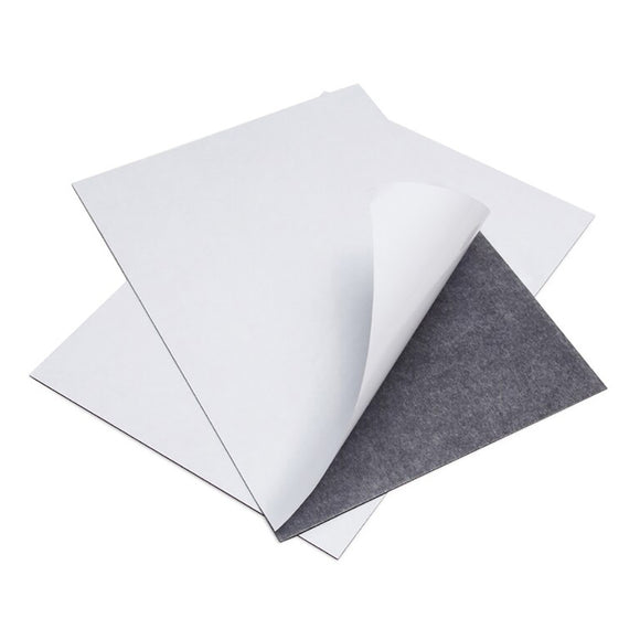 A4 Self-Adhesive Magnet Sheets 0.4mm (25 Pack)