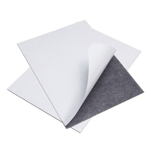 A4 Self-Adhesive Magnetic Sheet 0.4mm (50 Pack)
