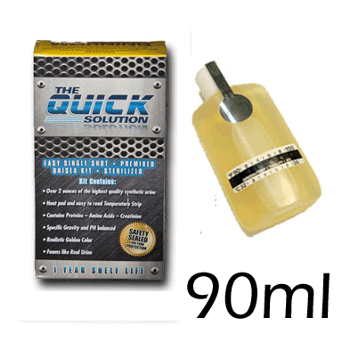 The Quick Solution - Synthetic Urine (Large 90ml)