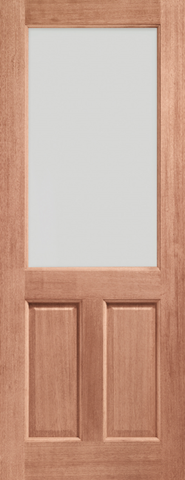 External Hardwood 1 Light Door