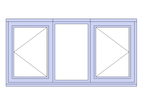 3 Light Standard Window