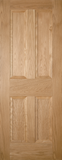 4 Panel Classic Oak Door