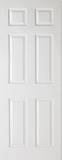 6 Panel Door (Smooth/Grained)