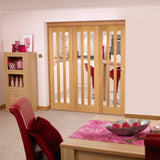 Jeldwen Aston 3 Light Internal Folding Doors