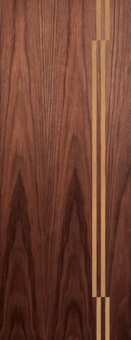 Atlanta Walnut Door