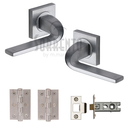 Stanford Satin Ironmongery Pack