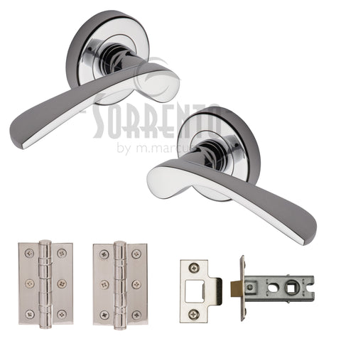 Arcadia Round Chrome Ironmongery Pack