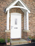 White Cottage Composite Door