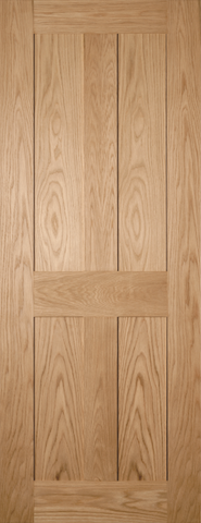 Country 4 Panel Oak Door