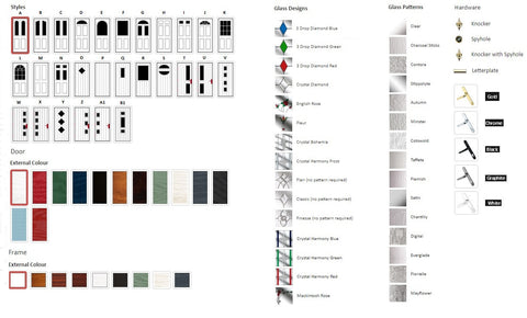 Design You Own Composite Doorset