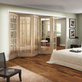 Jeldwen Huntingdon 10 Light Internal Folding Doors