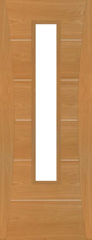 Kensington Oak Glazed Door