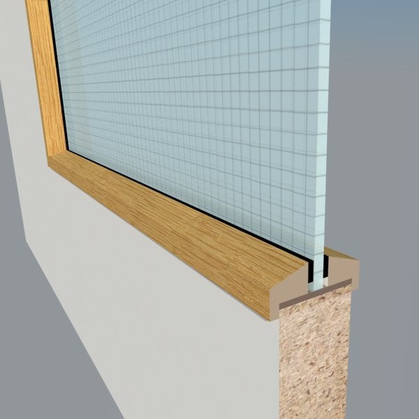 Oak Glazing Bead Fd30 Q Doors