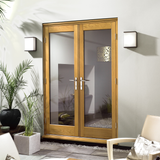 Premdor Oak External French Doors