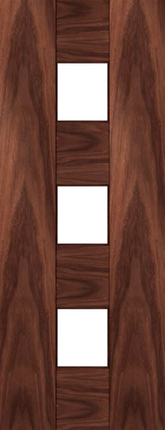 Sienna Walnut Glazed Door
