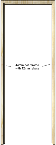 Ash Door Frame (44mm)