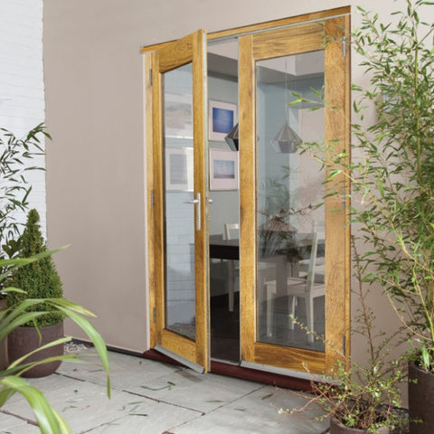 Jeldwen Darwin Oak External French Doors