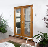 Jeldwen Canberra Marginal Fret External French Doors