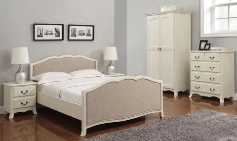 Chantilly Bedroom Set Q Doors