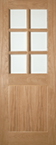 5 Panel Country / Mexicano / Ely Glazed Door