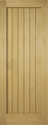 6 Panel Oak Croft Recessed Door