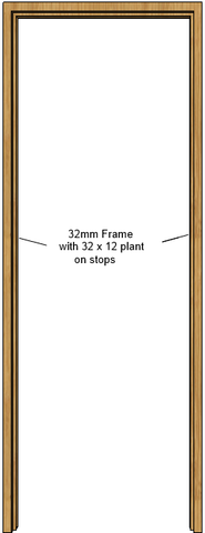Oak Door Frame (32mm)