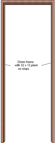 Hardwood Door Frame (32mm)