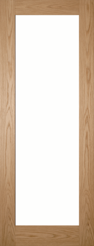 1 Panel Oak Glazed Door
