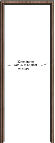 Walnut Door Frame (32mm)