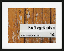Load image into Gallery viewer, Min Gata Personlig Poster