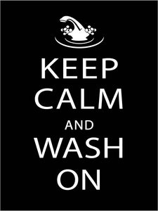 Wash on Poster
